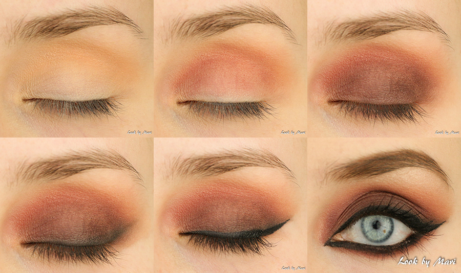 3 red smoky eye eyes dark tummat sumusilmä tumma smoky eye meikki