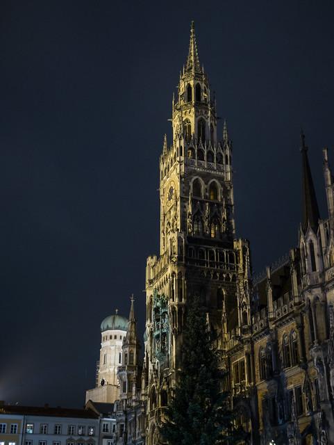 Midnight Rathaus