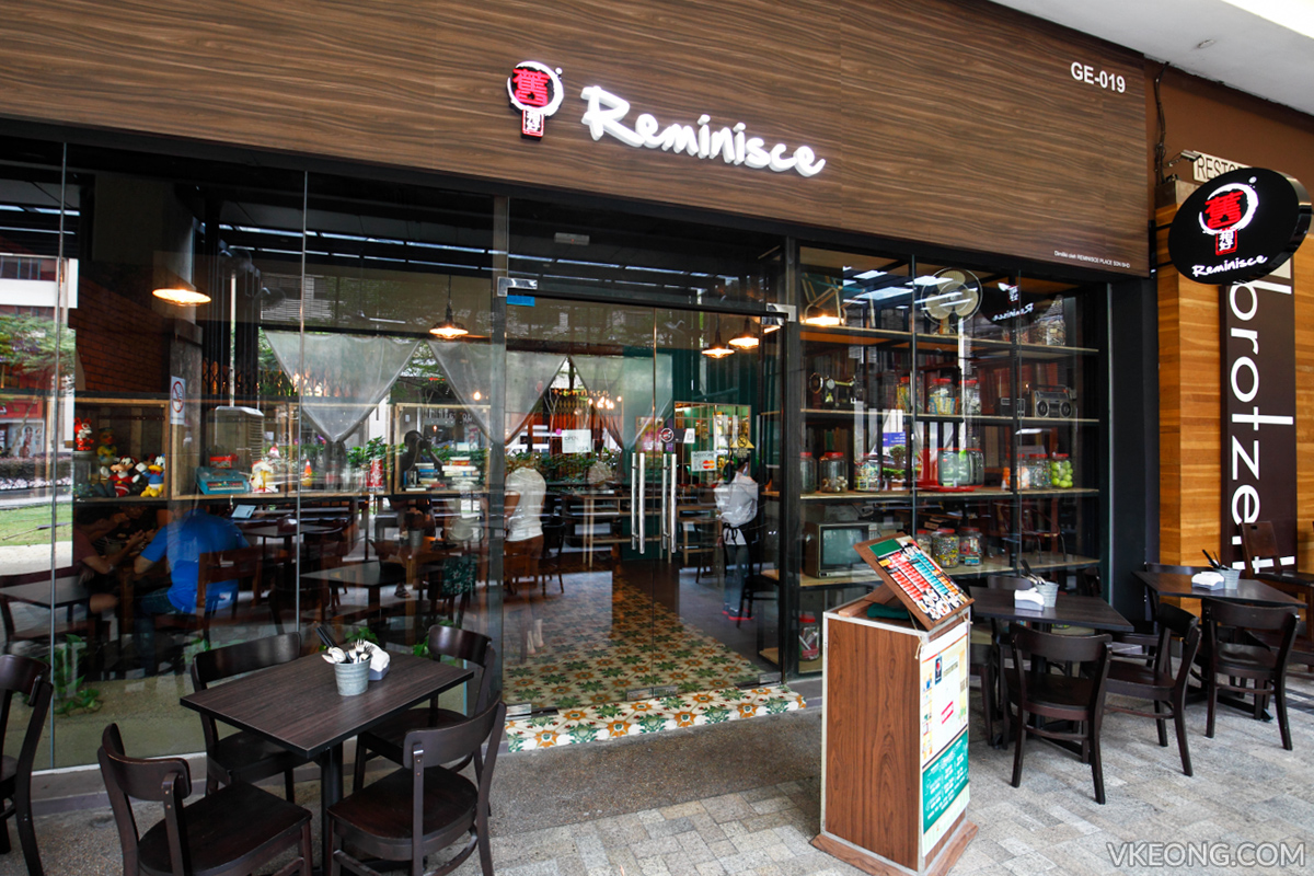 Reminisce Cafe Midvalley Megamall