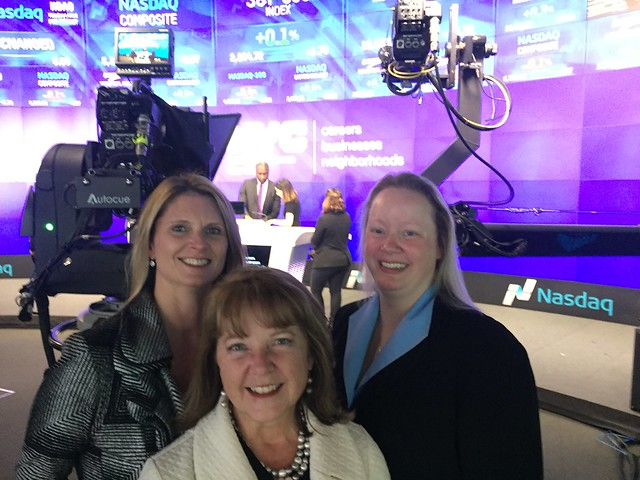WIPP leadership at NASDAQ
