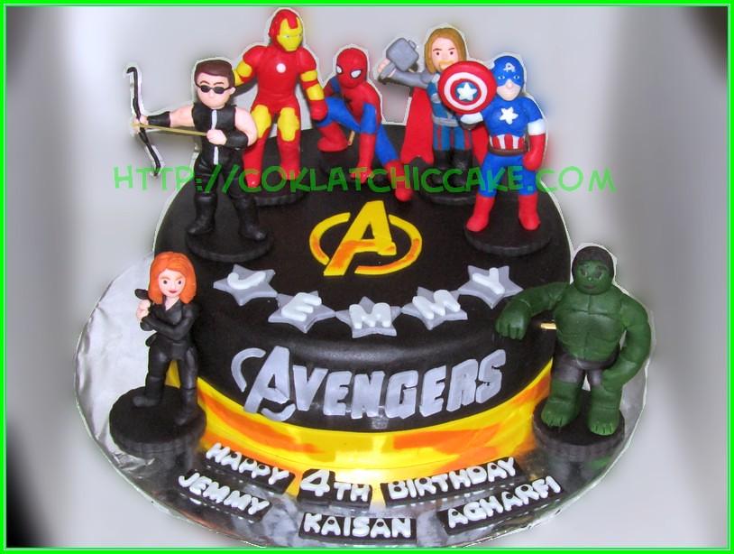 Cake Avengers