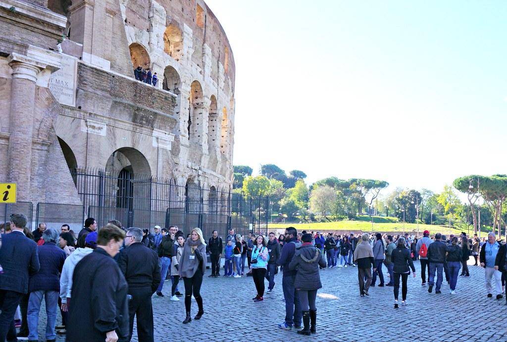jonoa Colosseumille