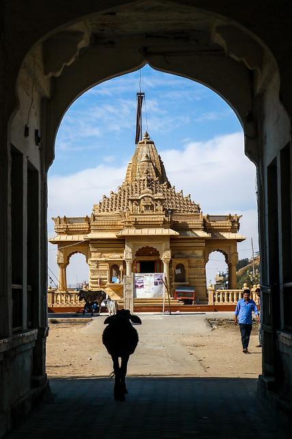 Jain Dharamshala temple in Jaisalmer, India ジャイサルメールのジャイナ教寺院