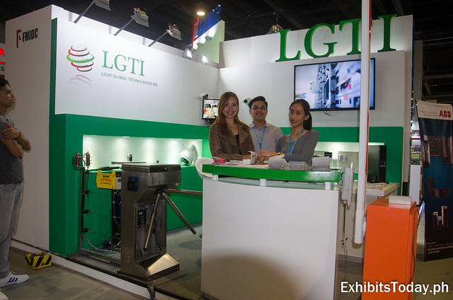 LGTI Exhibit Booth