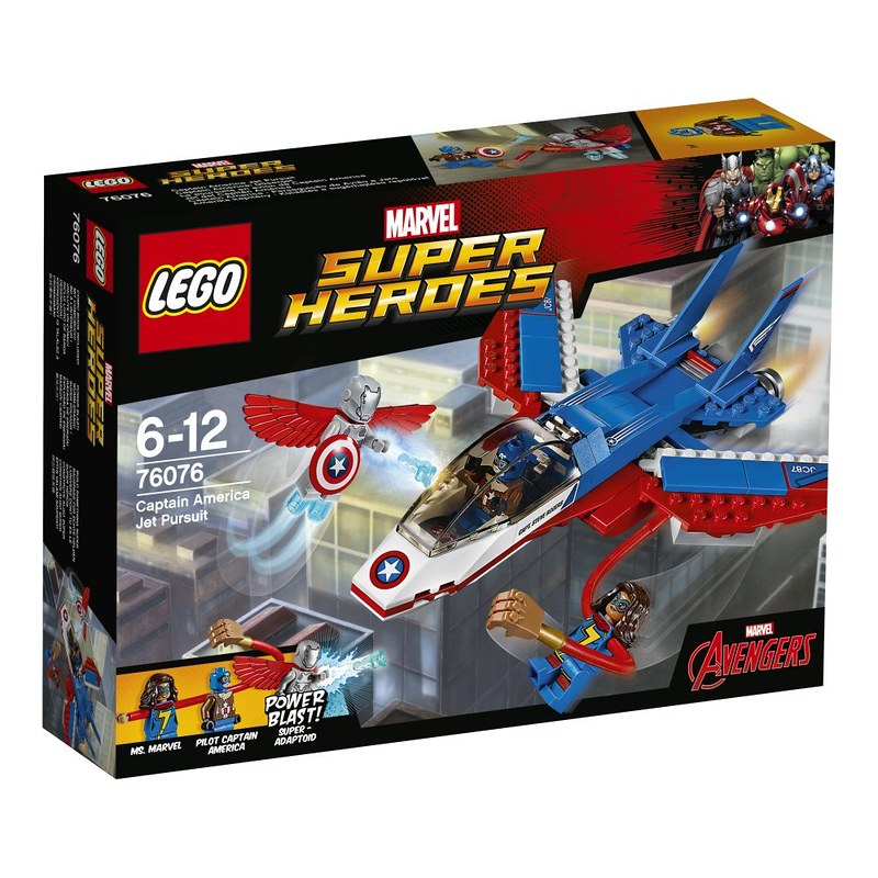 LEGO Marvel 2017 - Captain America Jet Pursuit (76076)