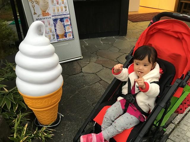 小麋鹿開始蒐集霜淇淋合照