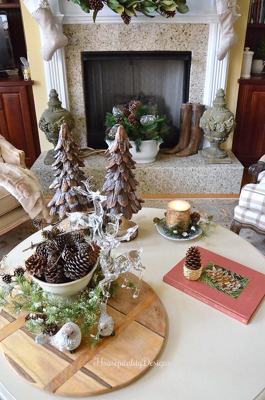 Woodland Christmas Vignette - Housepitality Designs