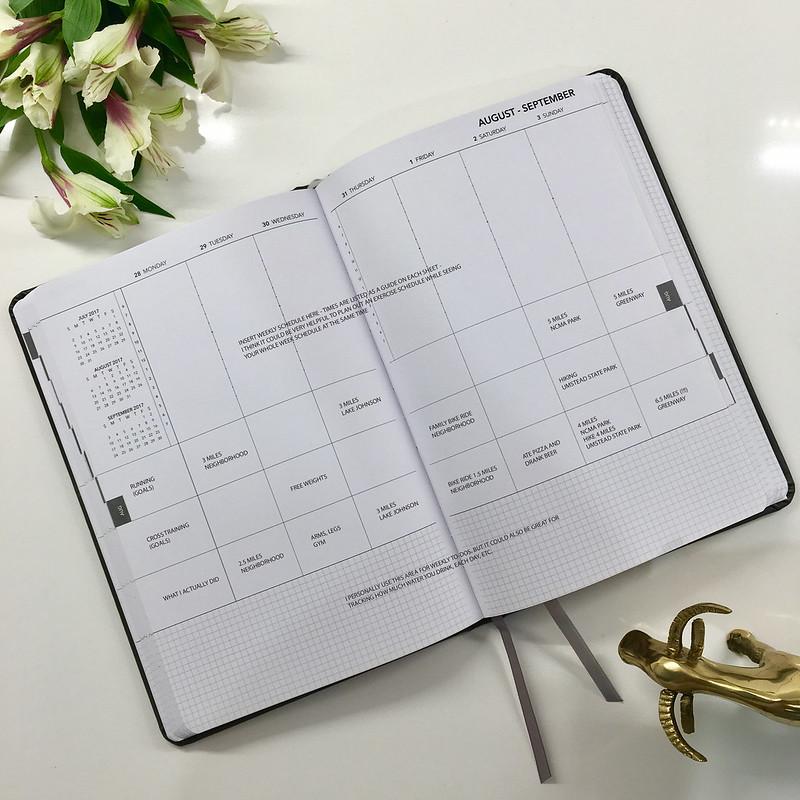 2017 UPstudio Planner Weekly Layout - RunOregon