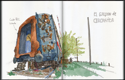 Salidas varias Croquiseros Urbanos de Buenos Aires / Several Croquiseros Urbanos de Buenos Aires outings: