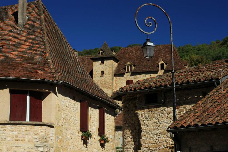 Autoire, un pueblo del Lot en Francia