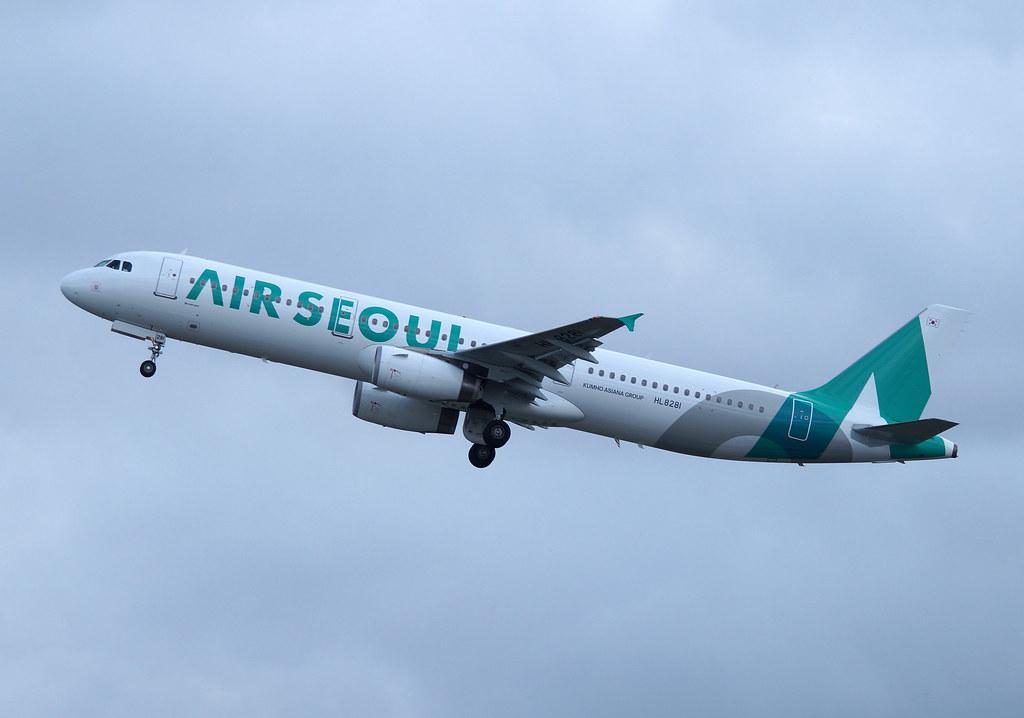 Air Seoul Airbus A320-200 HL8281