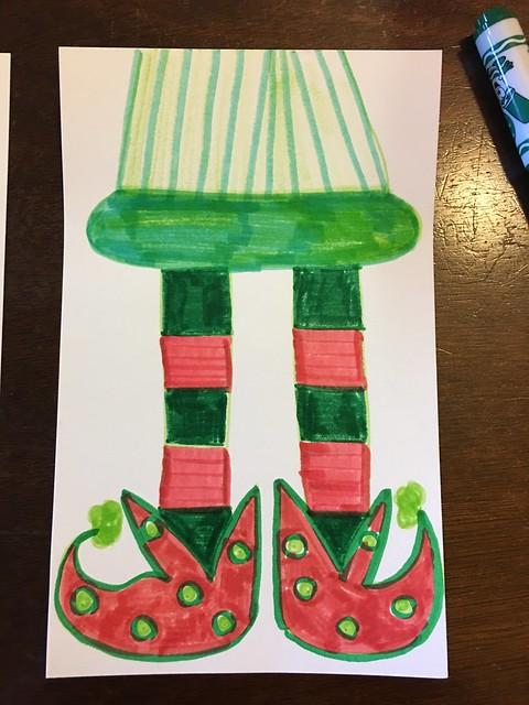 Elf Feet Art