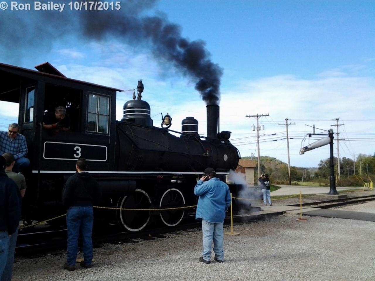 The recently-restored HSVR No. 3.
