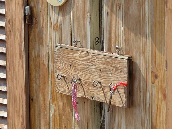 clés de cabines
