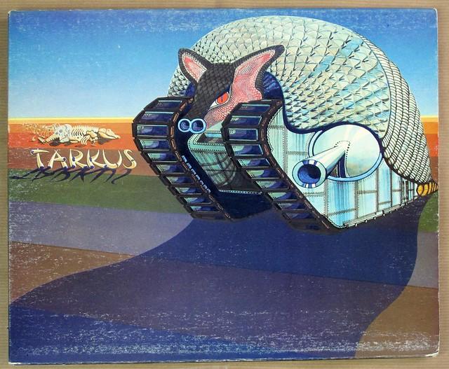 "EMERSON LAKE & PALMER TARKUS UK GATEFOLD FOC 12"" LP VINYL"