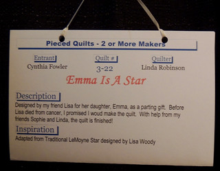 Label for Emma is a Star