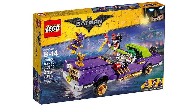 LEGO Batman Movie - The Joker Notorious Lowrider (70906)