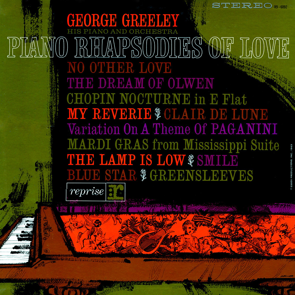 George Greeley ‎– Piano Rhapsodies of Love