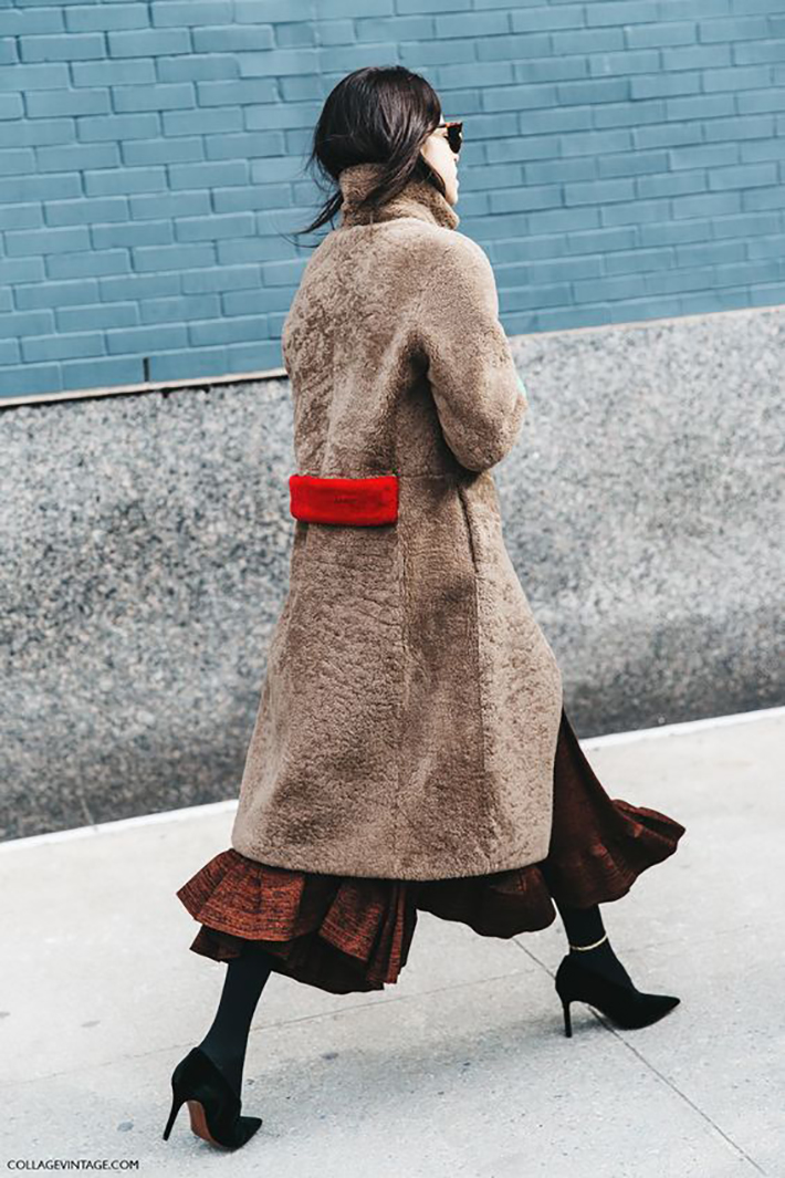 Coats streetstyle winter rainy day outfit accessories style fashion trend3