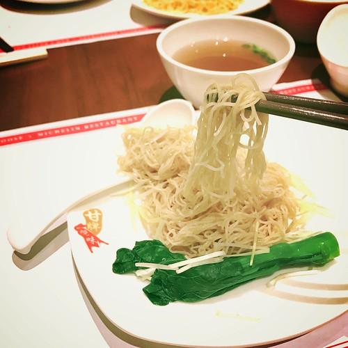 Kam's Roast's Wonton Noodles - Singapore