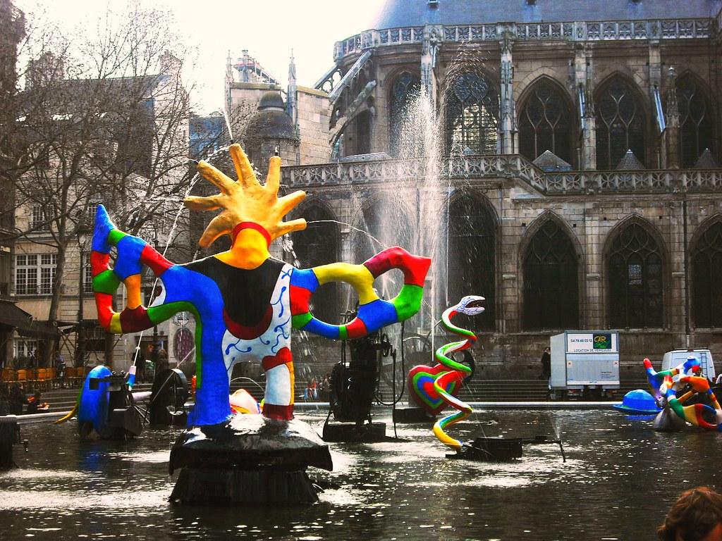 Fuente Stravinsky, París
