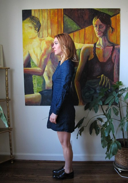 Denim Rosa Dress - side