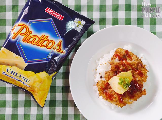 Chicken Katsu with Piattos Cheese