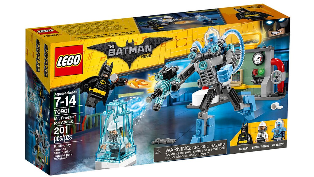 LEGO The Batman Movie 70901 - Mr. Freeze Ice Attack