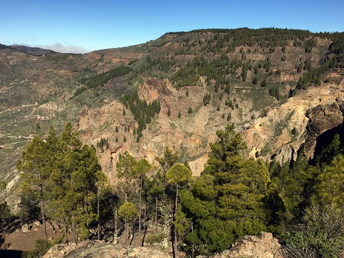 Gran Canaria - Roque Nublo's surroundings