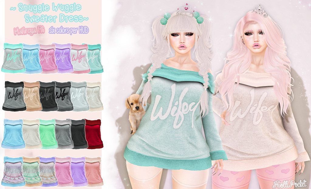 HolliPocket-Snuggle Wuggle Sweater Dress Ad