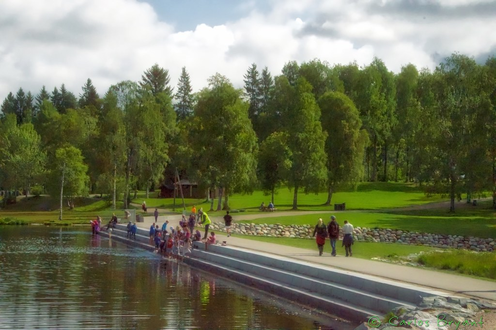 Sognsvann (Nikon D3200+iPhone6 app)