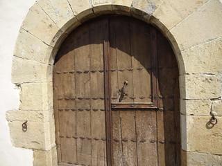 Door to the Hotel Akaretta