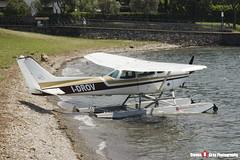 I-DROV - R1722810 - Aero Club Como - Cessna R172K Hawk XP - Lake Como, Italy - 160624 - Steven Gray - IMG_5358