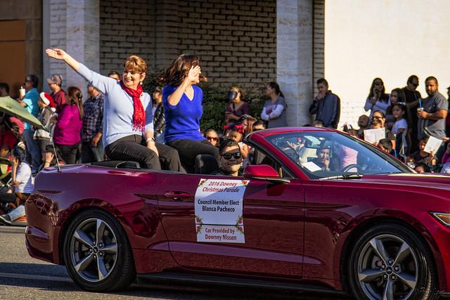 Downey Christmas Parade 2016 Blanca Pacheco