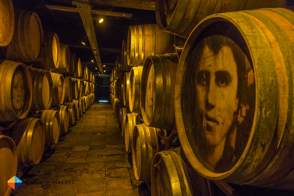Barrels at the Katogi Averoff Hotel & Winery