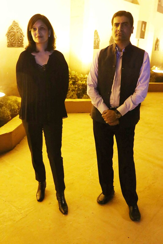 Netherfield Ball – Novelist Manu Joseph, Friend of Publisher Karthika V.K., Seen Cozying Up To Publisher Chiki Sarkar at Shashi Tharoor's Book launch, The Taj Mahal Hotel