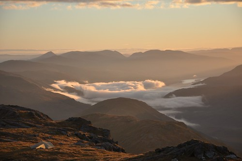 Glen Dessary from Carn Mor