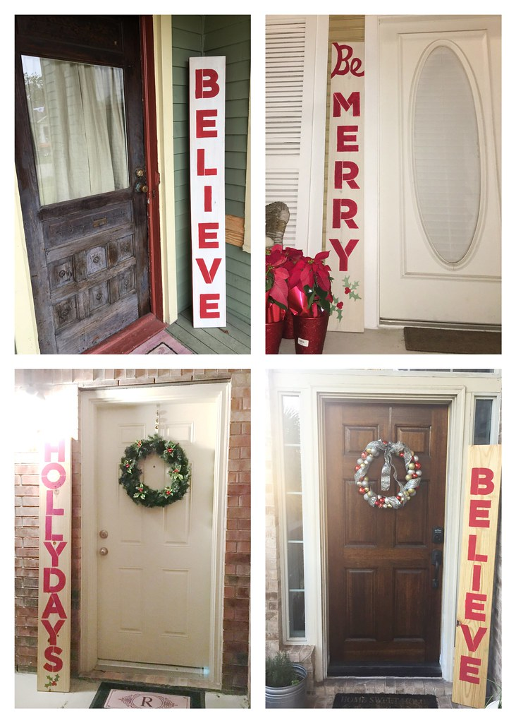 DIY Wooden Christmas sign