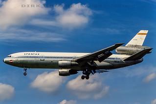 Spantax_DC-10_EC-DEG_19820829_HAM_w-o_19820913_AGP