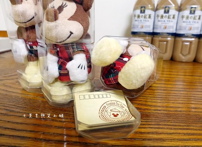 8 日本必買 午後的紅茶 米奇米妮吊飾娃娃限定組合