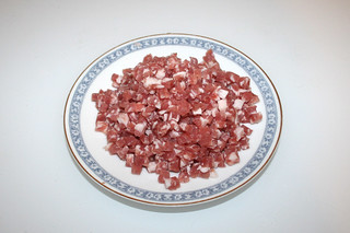 06 - Zutat Speckwürfel / Ingredient diced bacon