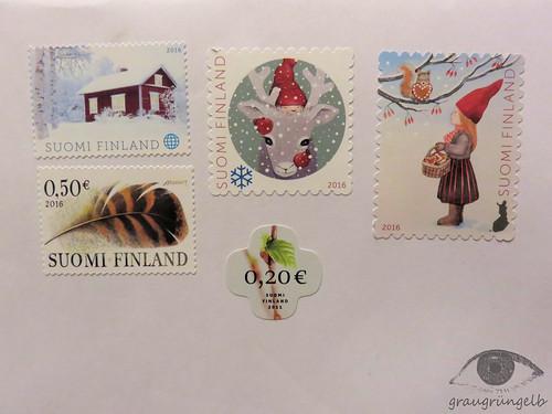 Finnische Briefmarken