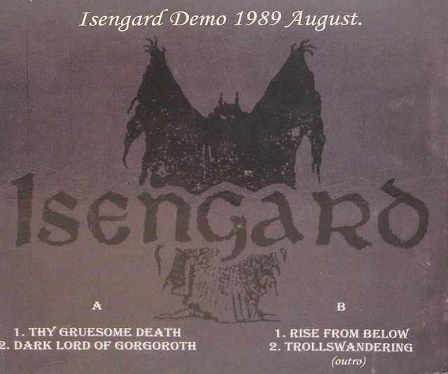 Isengard Dark Lord of Gorgoroth Demo August 1989 Darkthrone
