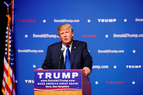 Mr Donald Trump New Hampshire Town Hall on August 19th, 2015 at Pinkerton Academy in Derry, NH by Michael Vadon