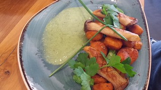 Sweet Potato Gnocchi at Vege Rama West End