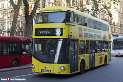 Wrightbus NRM NBFL - LTZ 1192 - LT192 - Lego Store - Victoria 38 - Arriva - London - 161126 - Steven Gray - IMG_4244
