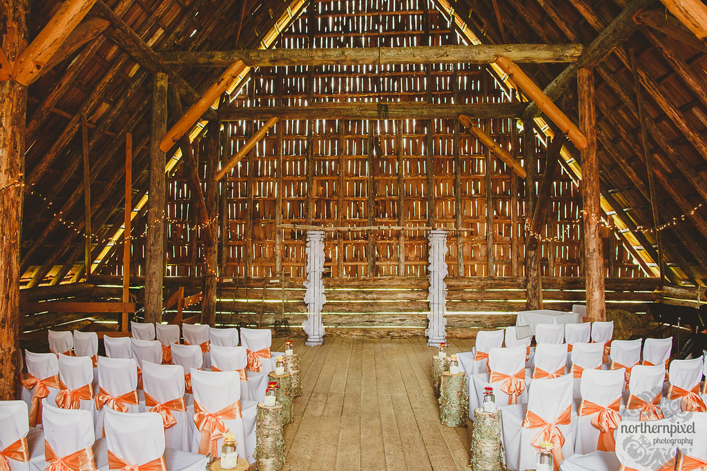 Huble Homestead Barn Wedding - Prince George BC
