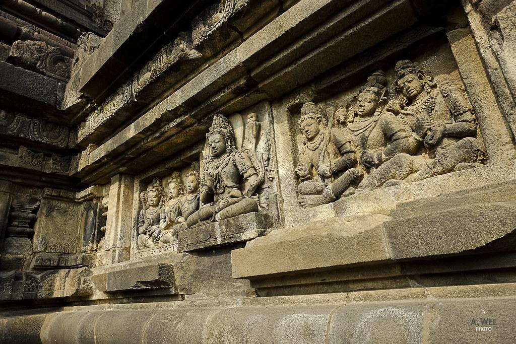 Temple murals