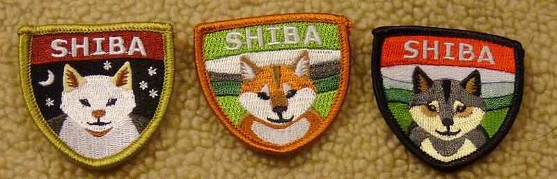 Shiba Patches