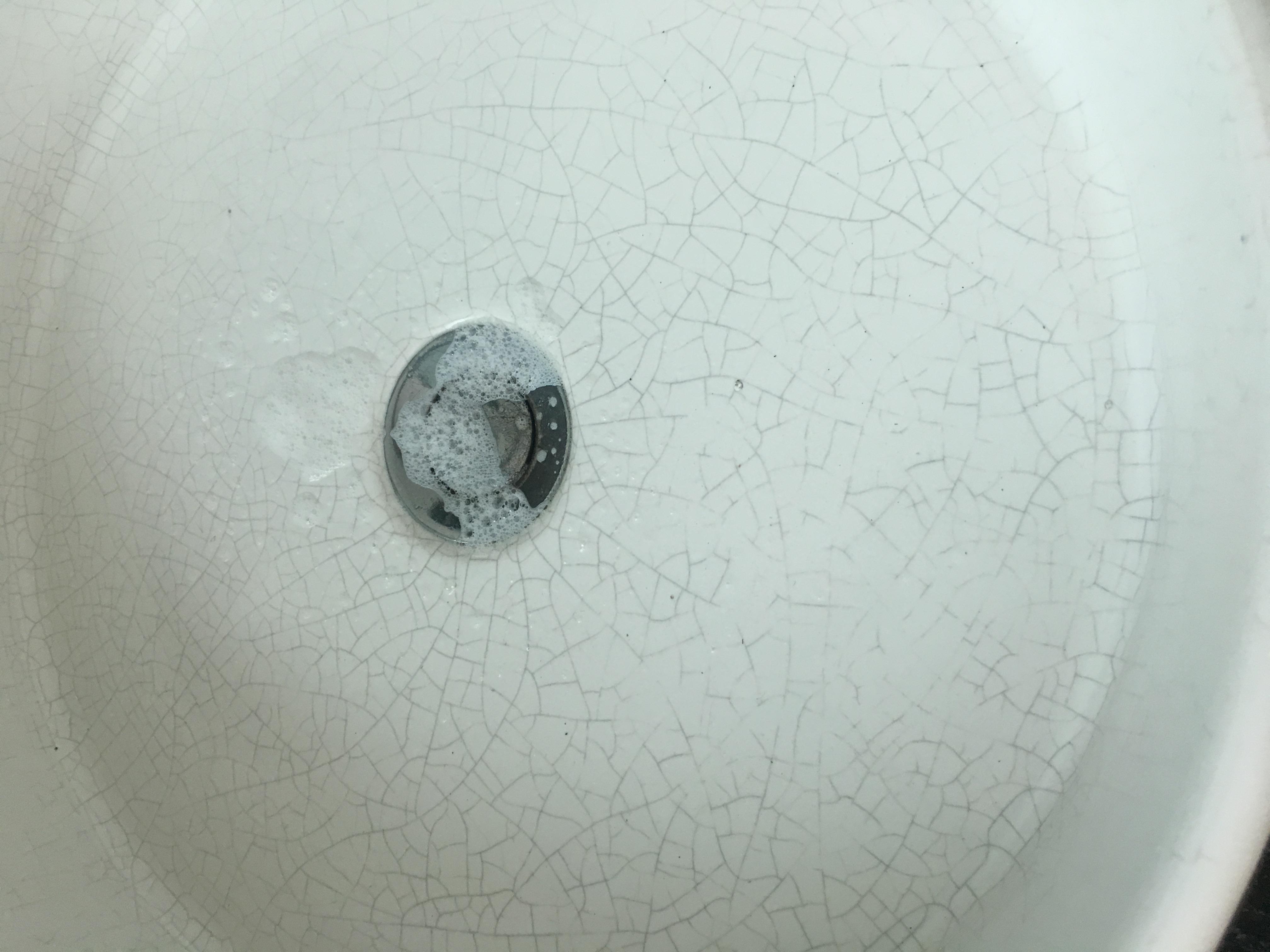 stuck sink